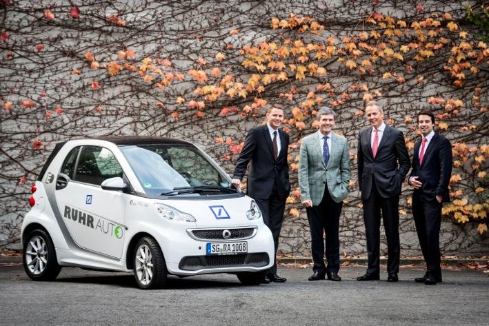 deutsche bank integriert ruhrautoe smart in fuhrpark ruhrautoe. Black Bedroom Furniture Sets. Home Design Ideas